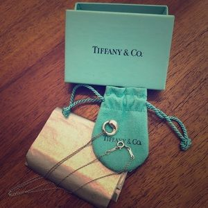Tiffany Elsa Peretti Small Eternal Circle Pendant